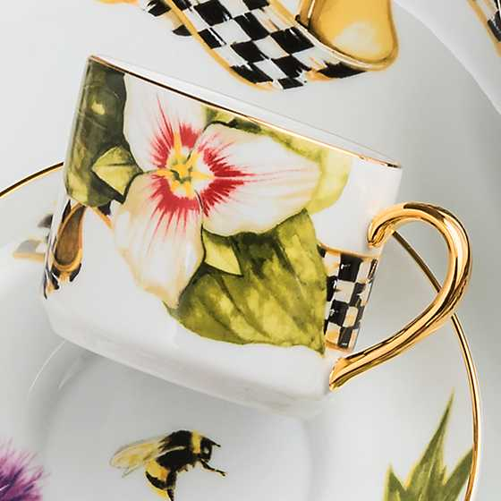 Thistle & Bee Teacup image five