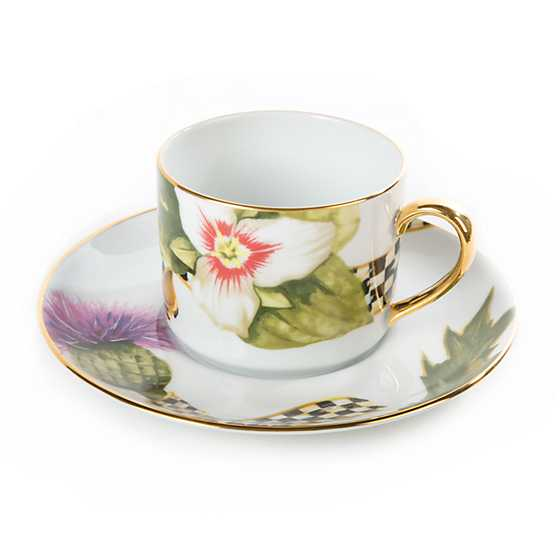 Thistle & Bee Teacup image three
