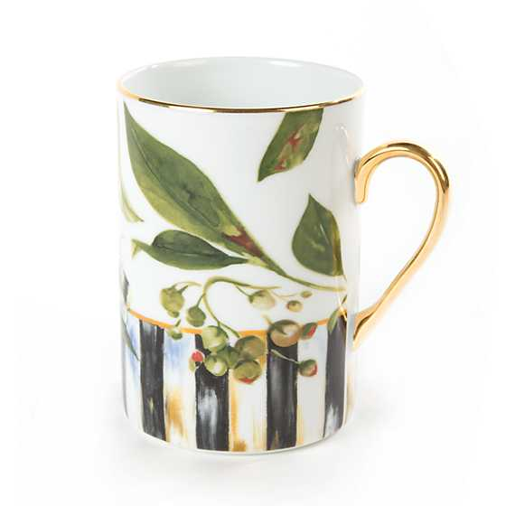 Thistle & Bee Mug image four