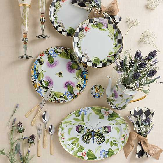 Thistle & Bee Serving Platter image three