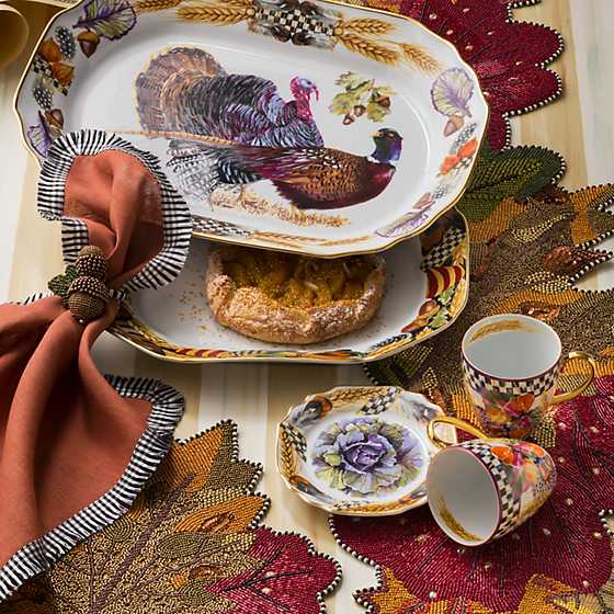 Pheasant Run Bread & Butter Plate image five