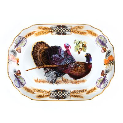 Pheasant Run Turkey Platter - Large