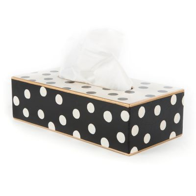 Dot Tissue Box Holder