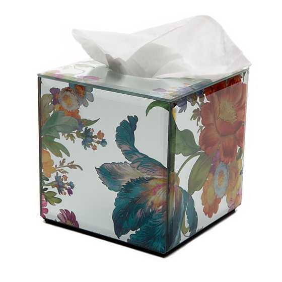 Flower Market Reflections Boutique Tissue Box Cover image three