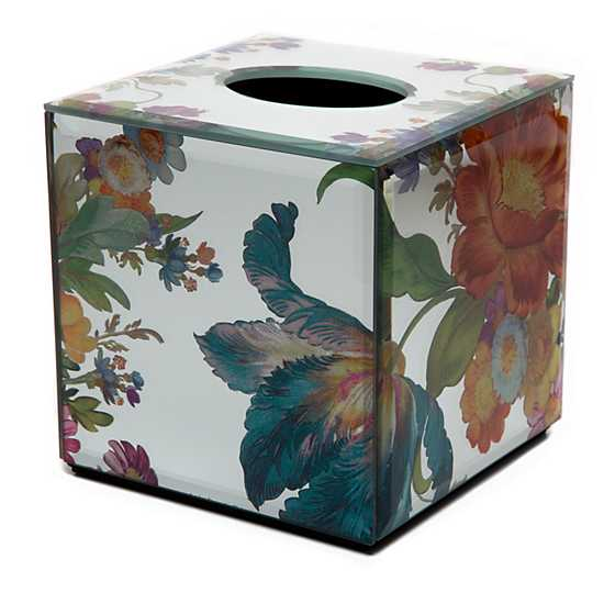Flower Market Reflections Boutique Tissue Box Cover