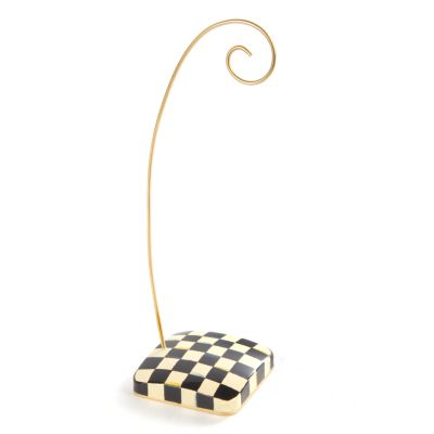 Courtly Check Ornament Stand