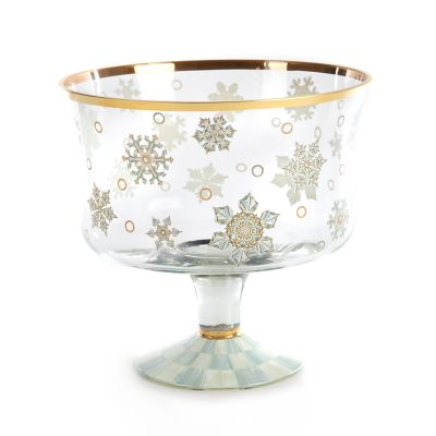 Snowfall Trifle Bowl