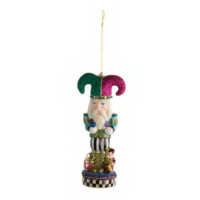 Glass Ornament - Bijou Nutcracker