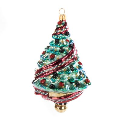 Glass Ornament - Reflector Tree