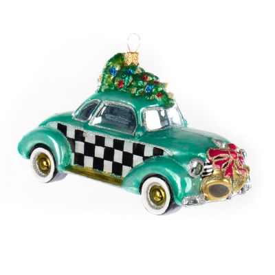Glass Ornament - Coupe