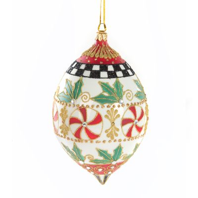 Deck the Halls Ornament - Peppermint Cupola