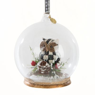 Owl Cloche Ornament