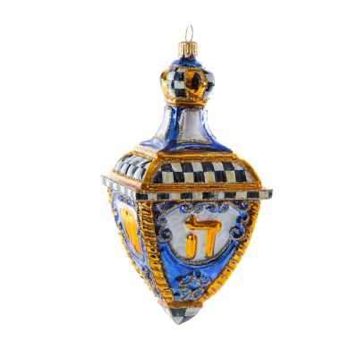 Glass Ornament - Dreidel