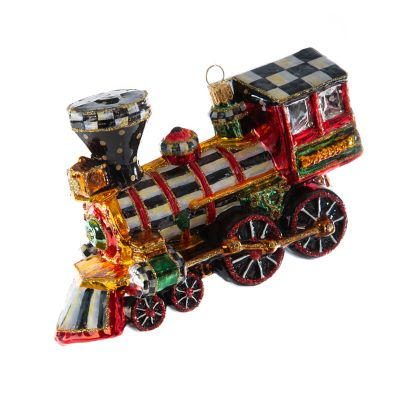 Glass Ornament - 2020 Choo Choo Train