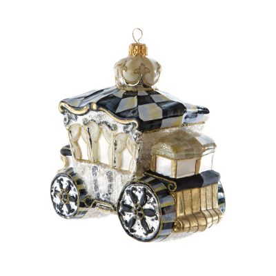 Glass Ornament - Golden Hour Carriage