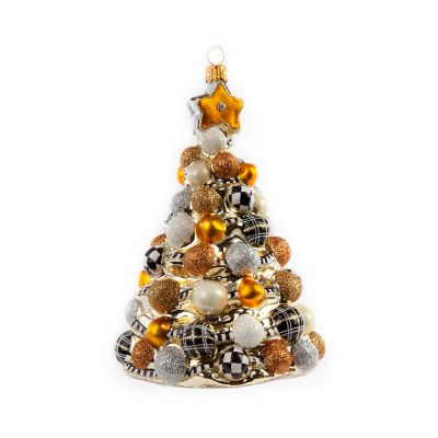 Glass Ornament - Golden Hour Bauble Tree