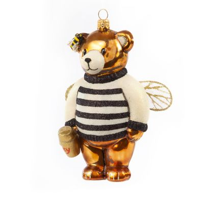 Glass Ornament - Honey Bear