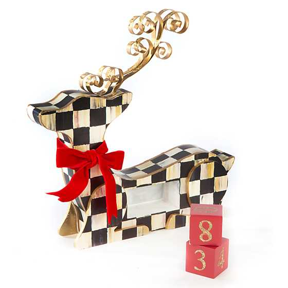 Courtly Check Deer Countdown Calendar image three
