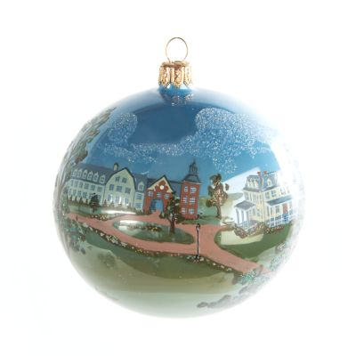 Glass Ornament - MacKenzie-Childs Landscape