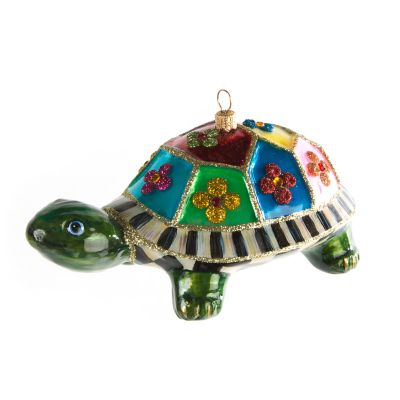 Glass Ornament - St. Tropez Turtle