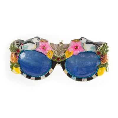 Glass Ornament - St. Tropez Sunglasses
