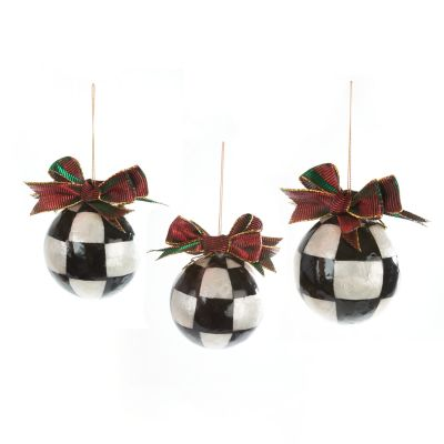 Jester Fancy Ornaments - Small - Set of 3