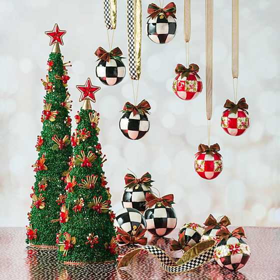 Jester Fancy Ornaments - Large - Set of 3 image four