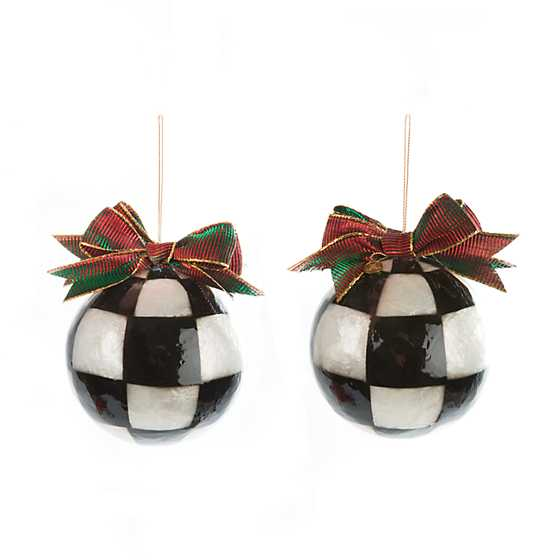Jester Fancy Ornaments - Large - Set of 3