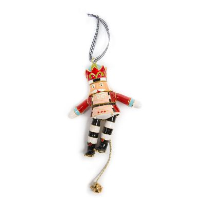 Cloisonne Nutcracker Ornament - King