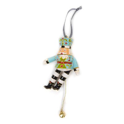 Cloisonne Nutcracker Ornament - Duke