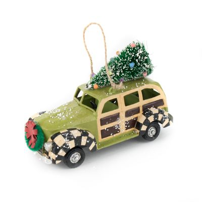 Vintage Car Ornament - Woody