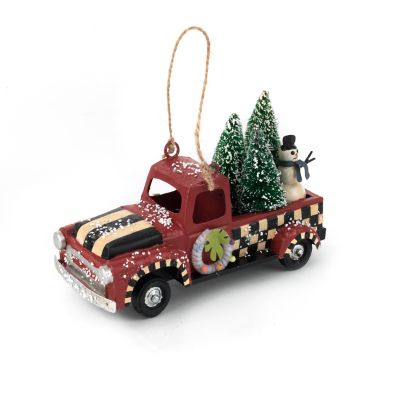 Vintage Car Ornament - Truck