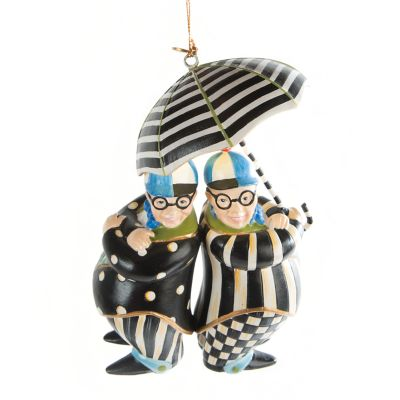 Tweedle Dee & Tweedle Dum Ornament