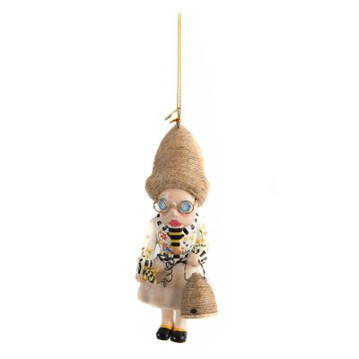Queen Bee Beekeeper Ornament