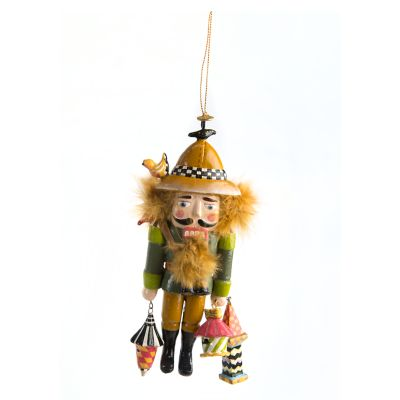 Birdwatcher Nutcracker Ornament