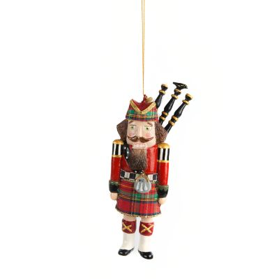 Bagpiper Nutcracker Ornament