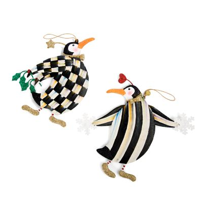 Tuxedo Penguins Ornaments - Set of 2