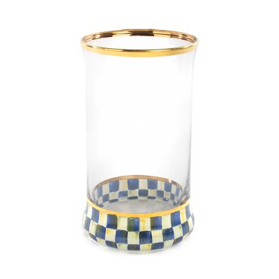 Royal Check Highball Glass