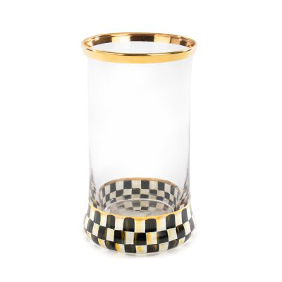 Courtly Check Highball Glass