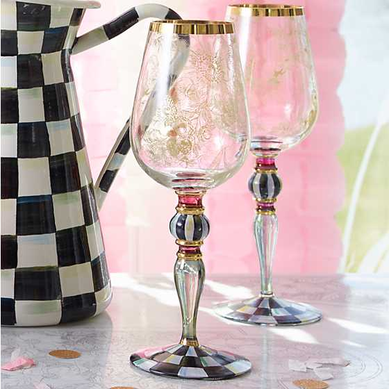 Blooming Wine Glass
