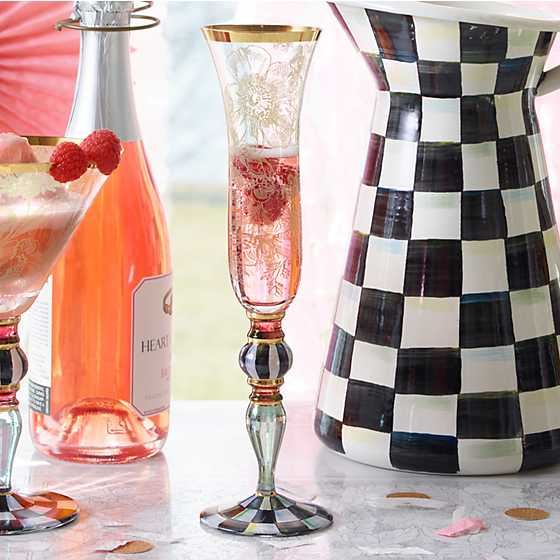 Blooming Champagne Flute image three