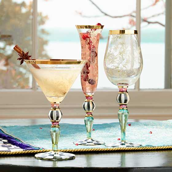 Blooming Champagne Flute image four