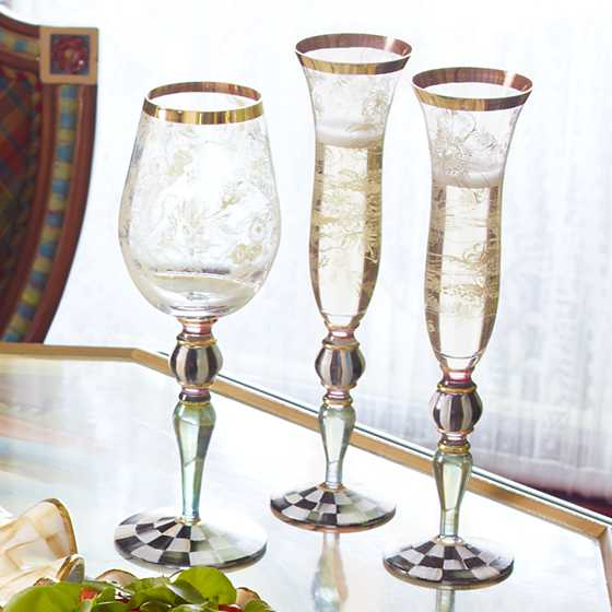 Blooming Champagne Flute image five