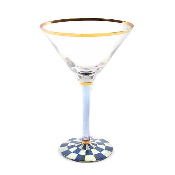 Royal Check Martini Glass