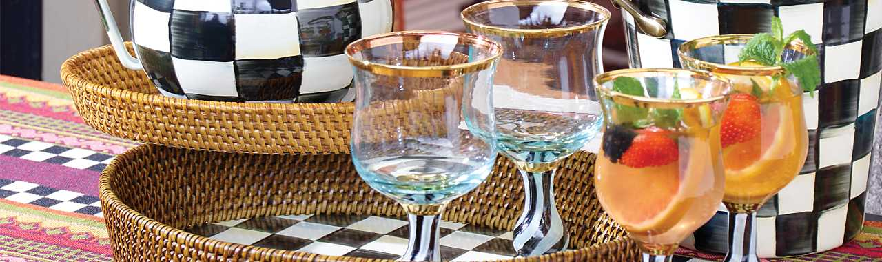 Tango Water Glass Banner Image