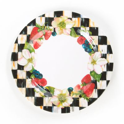 Berries & Blossoms Dinner Plates - Set of 4