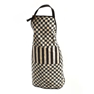 Image for Courtly Check Bistro Apron