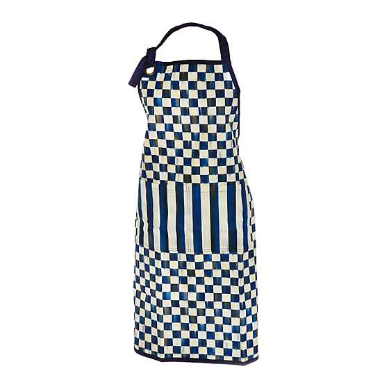 Royal Check Bistro Apron