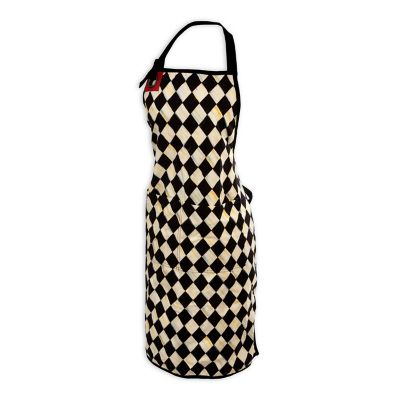Image for Courtly Harlequin Bistro Apron