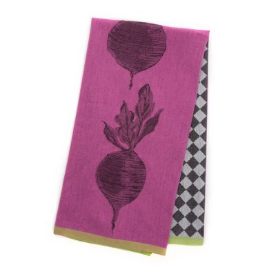Image for Woven Dancing Beets Dish Towel